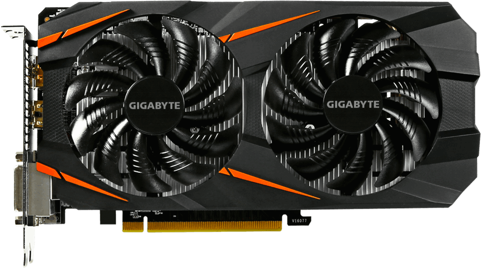 Видеокарта Gigabyte GV-N1060WF2OC-3GD Windforce OC GeForce GTX 1060 3Gb GDDR5 192bit