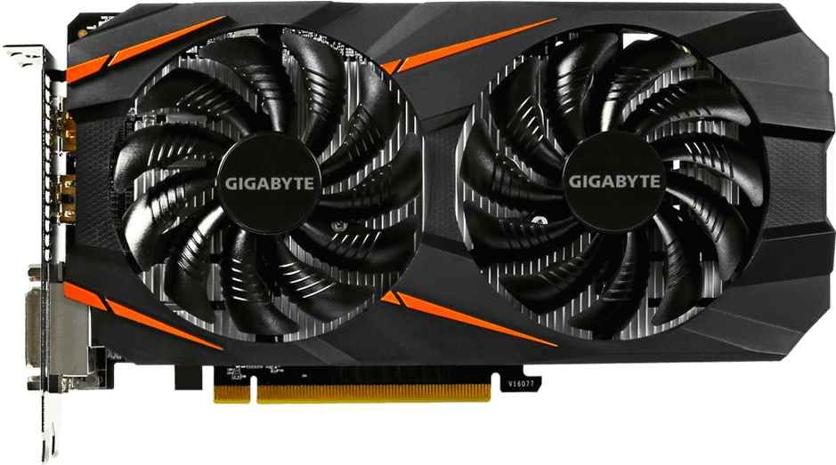 Видеокарта Gigabyte GV-N1060WF2OC-6GD Windforce OC GeForce GTX 1060 6Gb GDDR5 192bit  фото