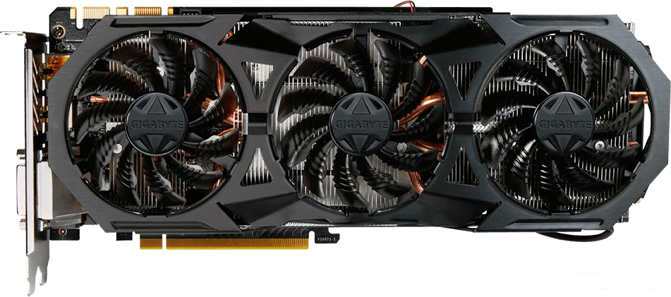 Видеокарта Gigabyte GV-N1070G1 ROCK-8GD GeForce GTX 1070 8Gb DDR5 256bit