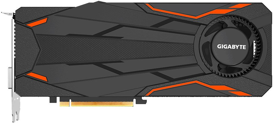 Видеокарта Gigabyte GV-N1080TTOC-8GD Turbo OC 8G 8Gb GeForce GTX 1080 8Gb GDDR5X 256bit