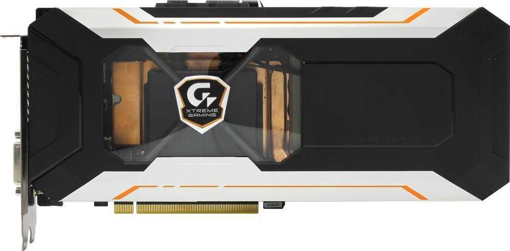 Видеокарта Gigabyte GV-N1080XTREME W-8GD GeForce 1080 Xtreme Gaming Water cooling 8Gb DDR5X 256bit фото