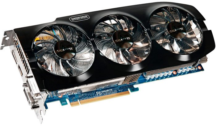 Видеокарта Gigabyte GV-N670WF3-2GD GeForce GTX 670 2GB GDDR5 256bit