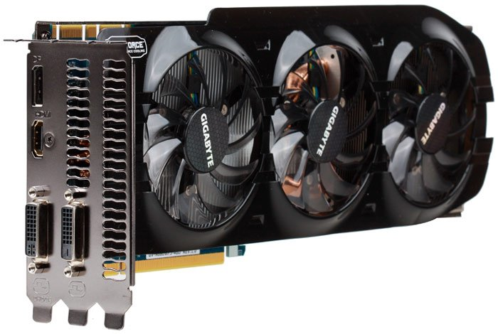 ���������� Gigabyte GV-N680WF3-4GD GeForce GTX 680 4GB GDDR5 256bit