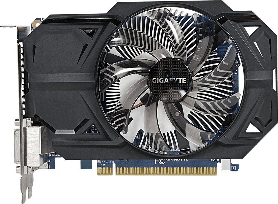 Видеокарта Gigabyte GV-N75TOC-1GI (rev.1.0/2.0) GeForce GTX 750Ti 1Gb DDR5 128bit