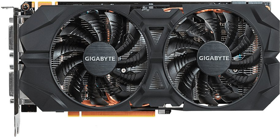Видеокарта Gigabyte GV-N960WF2OC-4GD GeForce GTX 960 4Gb DDR5 128bit