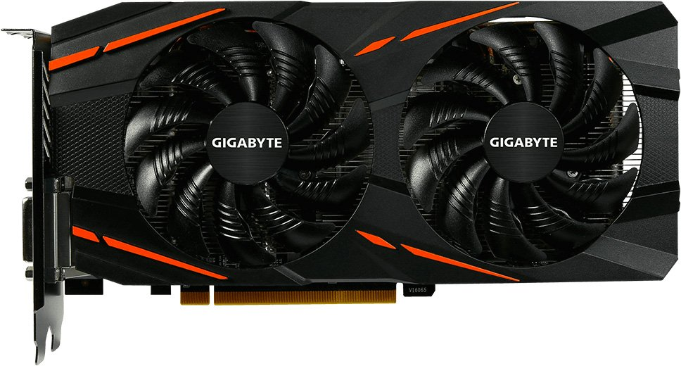 Видеокарта Gigabyte GV-RX580GAMING-8GD (rev. 1.1) Radeon RX 580 Gaming 8Gb GDDR5 256bit