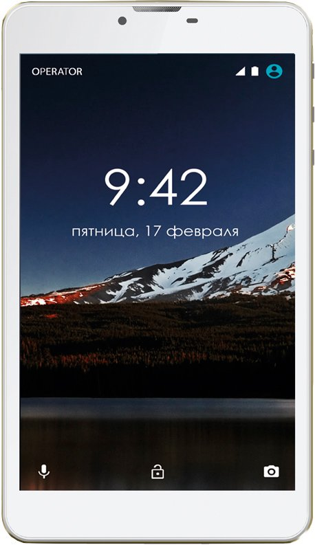 Планшет Ginzzu GT-7105 Gold 8GB 3G
