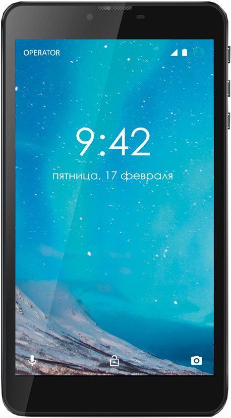 Планшет Ginzzu GT-7110 16GB LTE Black