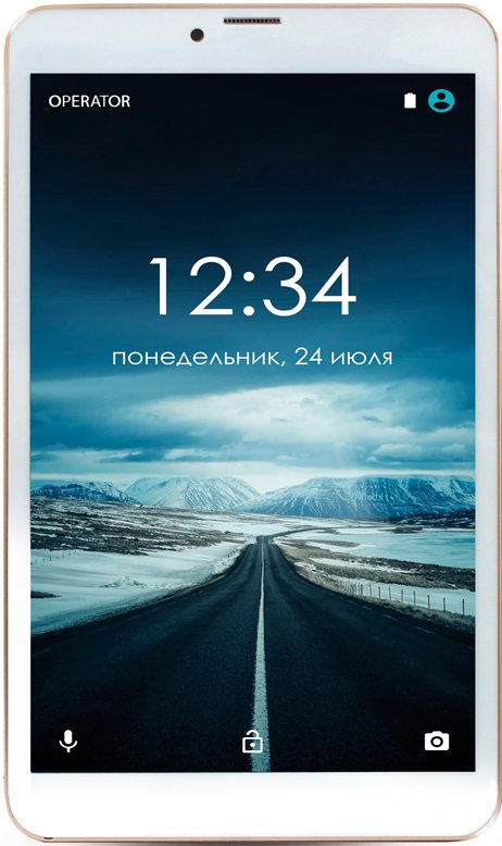 Планшет Ginzzu GT-8005 8GB 3G Gold