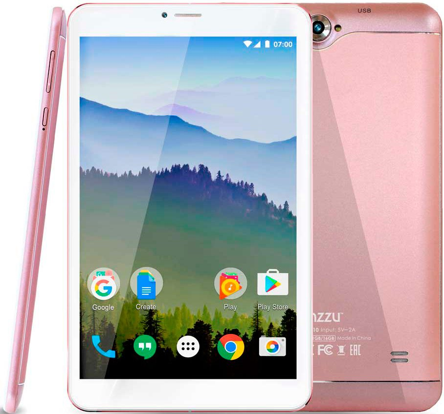 Ginzzu GT-8110 16GB LTE Rose gold