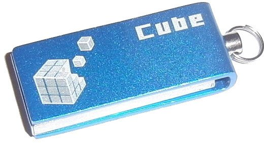 USB-флэш накопитель GoodDrive Cube 4GB PD4GH2GRCUBR9