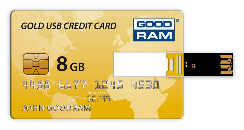 USB-флэш накопитель GOODRAM Credit Card 8GB PD8GH2GRCCPR9