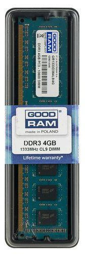 Модуль памяти GoodRam GR1333D364L9/4G DDR3 PC3-10600 4GB фото