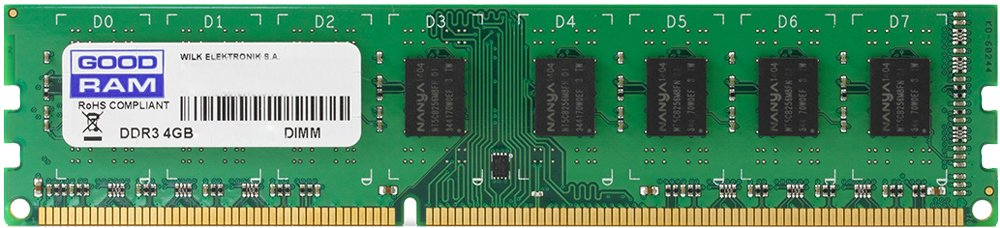 Модуль памяти GoodRam GR1600D3V64L11S/4G DDR3 PC3-12800 4Gb