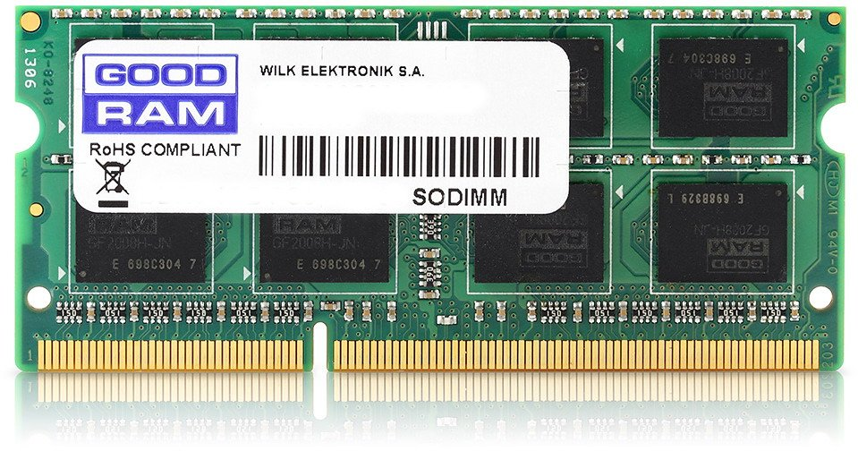 Модуль памяти GoodRam GR1600S3V64L11/8G DDR3 PC3-12800 8Gb