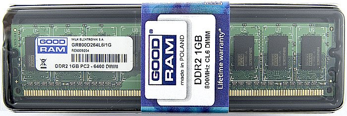 Модуль памяти GoodRam GR800D264L6/1G DDR2 PC6400 1Gb
