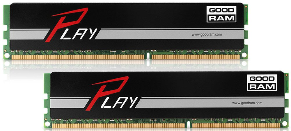 Комплект памяти GoodRam Play GY1866D364L10/16GDC DDR3 PC3-15000 2*8GB  фото
