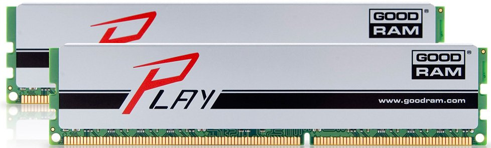 Модуль памяти Goodram Play GYS1600D364L10/16GDC DDR3 PC-12800 2*8Gb