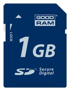 ����� ������ GoodRAM Secure Digital Card 1GB SDC1024GR