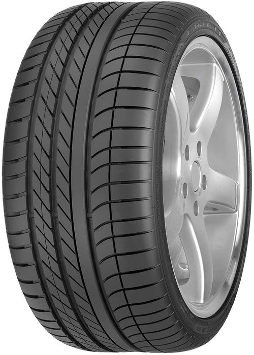 Летняя шина Goodyear Eagle F1 Asymmetric 255/45R18 103Y