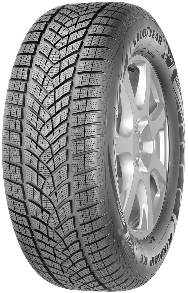 Зимняя шина Goodyear UltraGrip Ice SUV 225/65R17 102T