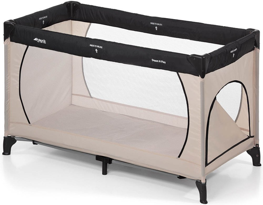Манеж-кровать Hauck Dream'n Play Plus beige/grey
