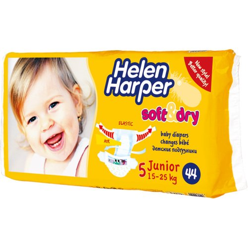 Подгузники Helen Harper Soft & Dry Junior (15-25 кг) 44шт