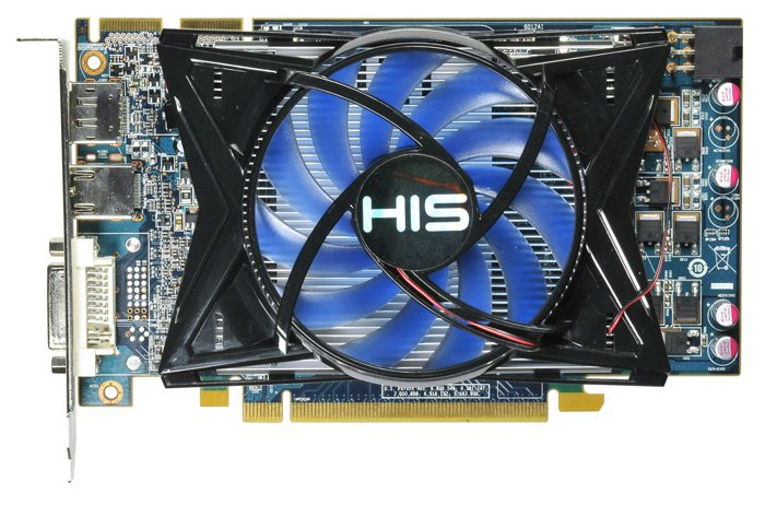 Видеокарта HIS H575FN1GD Radeon HD 5750 1024MB GDDR5 128bit