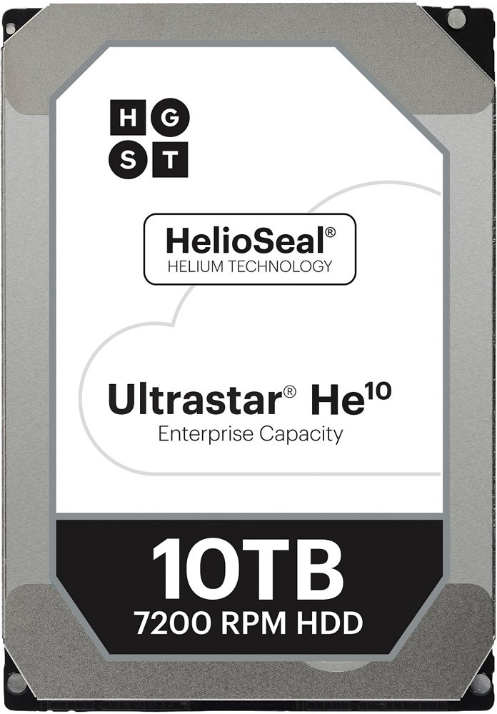 Жесткий диск Hitachi Ultrastar He10 (HUH721010ALE604) 10000 Gb фото