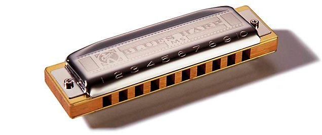 Губная гармошка HOHNER Blues harp 532/20 MS D (M533036)