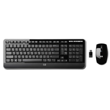 Десктоп HP 2.4GHz Wireless Multi-media Keyboard and Mouse (KZ256AA)