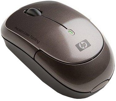 Компьютерная мышь HP Chocolate Wireless Laser Mini Mouse (KC979AA)