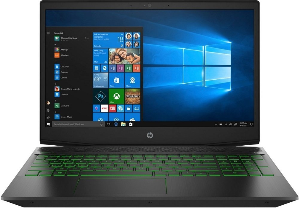 Ноутбук HP Gaming Pavilion 15-cx0034ur (4PR11EA) фото