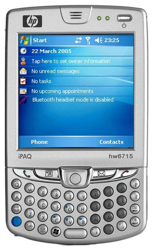 ��� HP iPAQ hw6910 Mobile Messenger