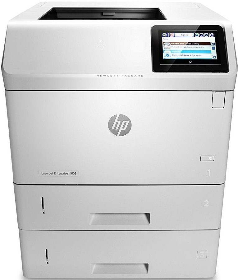 Лазерный принтер HP LaserJet Enterprise M605x (E6B71A)
