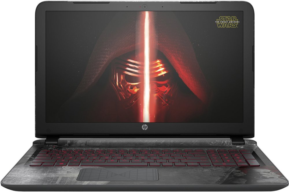 Ноутбук HP Star Wars Special Edition 15-an020nw (P3K72EA)