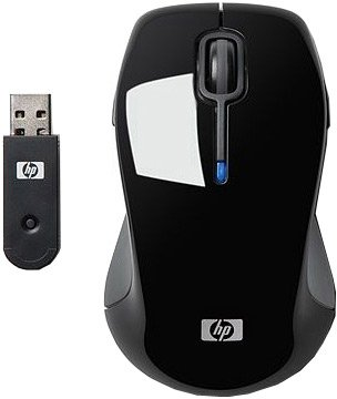 Компьютерная мышь HP Wireless Comfort (Black) Mouse (FQ422AA)