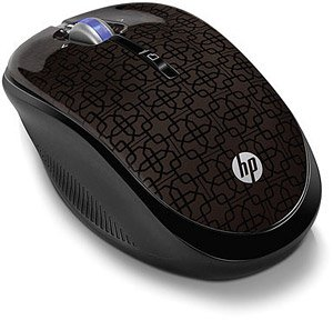 Компьютерная мышь HP Wireless Optical Mouse (WX407AA)