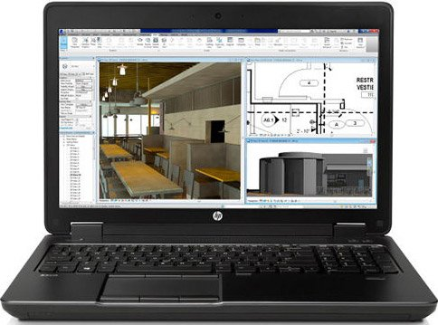 Ноутбук HP ZBook 15 G2 Mobile Workstation (K0G80ES)