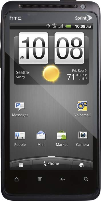 ��������� ������� HTC Evo Design 4G