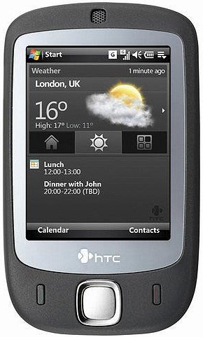 ��������� ������� HTC Touch P3450