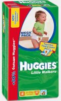 Трусики Huggies Little Walkers 4 (9-15 кг) 52 шт