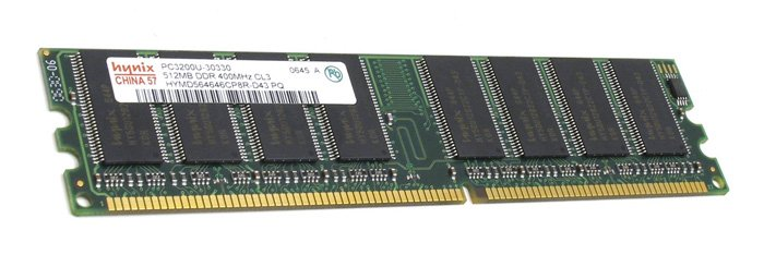 ������ ������ Hynix DDR PC3200 512MB