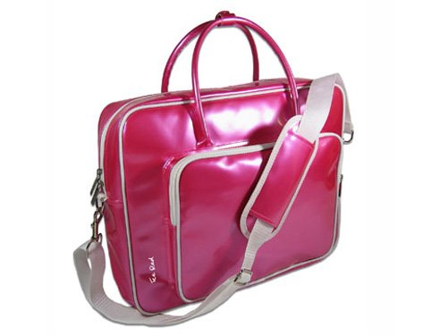 Сумка для ноутбука Ice Red Shine 2 Compact Glossy Laptop Bag Pink