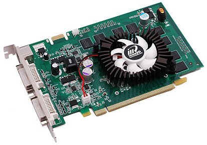 Видеокарта inno3D Geforce 9500GT GeForce 9500GT 512Mb 128bit