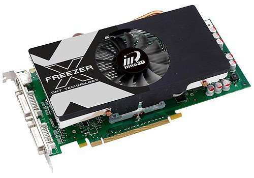 Видеокарта inno3D Geforce GTS 250 esave GeForce GTS 250 512Mb 256bit