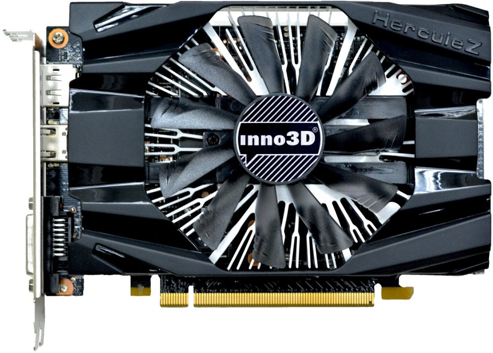 Видеокарта Inno3D N1060-6DDN-L5GM GeForce GTX 1060 3Gb GDDR5 192bit