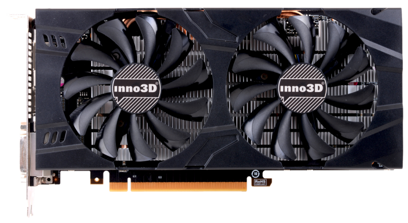 Видеокарта Inno3D N106F-2SDN-L5GS Twin X2 GeForce GTX 1060 3GB GDDR5 192bit  фото