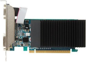 Видеокарта Inno3D N21A-5SDV-D3BX GeForce 210 Silent LP 1Gb DDR3 64bit