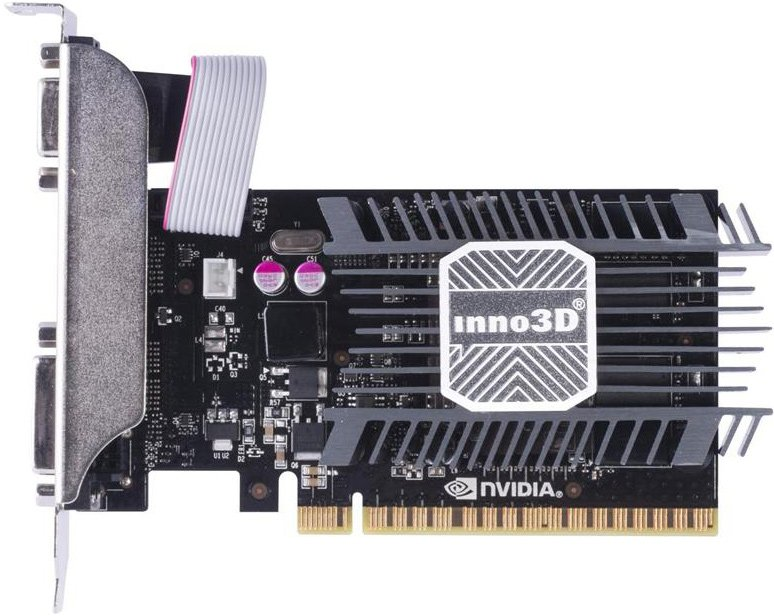 Видеокарта Inno3D N730-1SDV-D3BX GeForce GT 730 1Gb DDR3 64bit